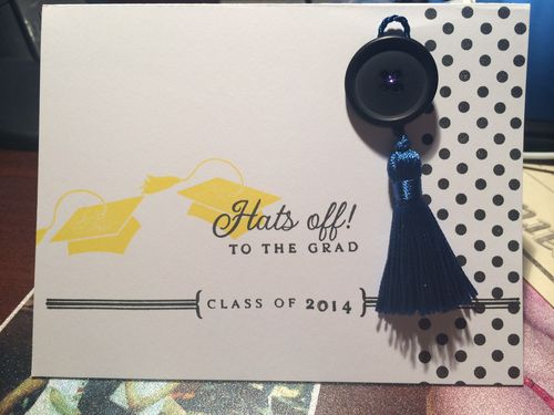 Graduation card 2 June 2014