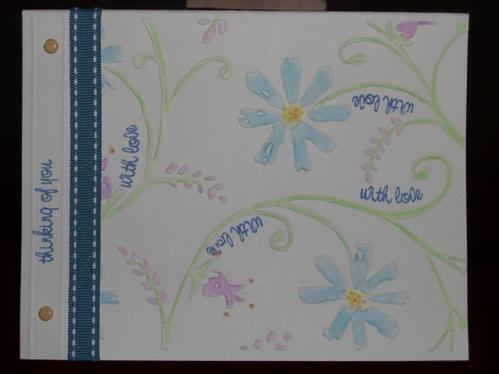 May 2008 Flowering vine Card